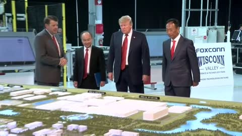 Foxconn CEO meeting at White House, reasons unclear
